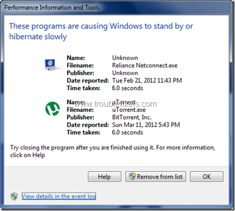 Identify and Resolve Windows Performance Issues (1)