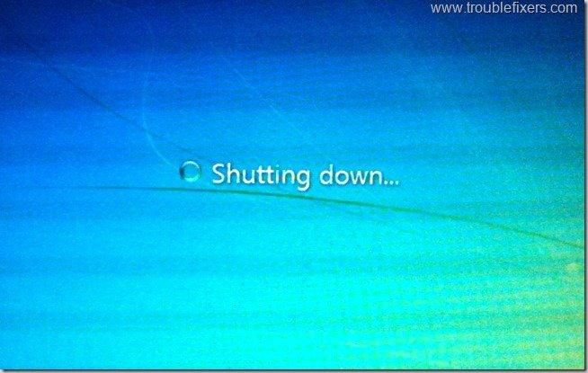 Windows 7 Shutting Down