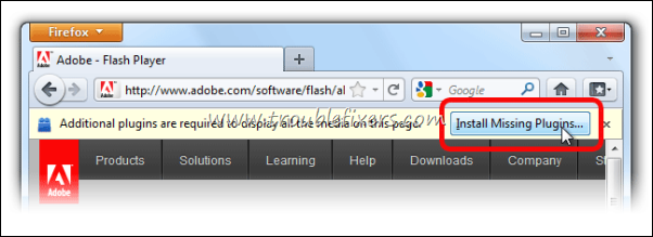 Install Flash In Firefox