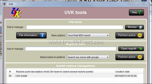 UVK tools
