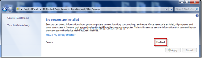 location and sensors in Windows 8 and Windows 7 (2)