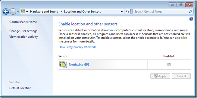 location and sensors in Windows 8 and Windows 7 (4)