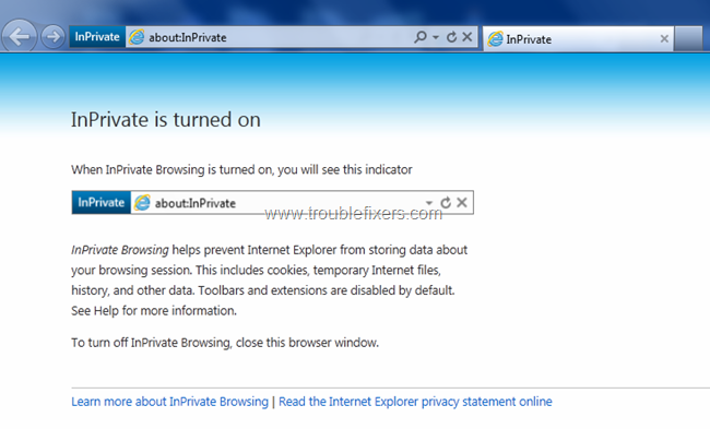 Private Browsing for security (2)