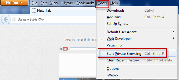 Private Browsing for security (3)