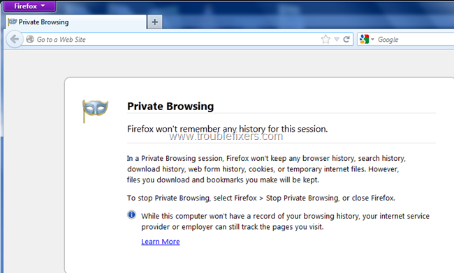 Private Browsing for security (4)