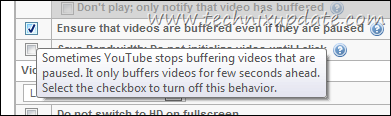 buffer video when they are paused