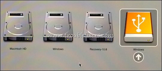 windows installation on mac os