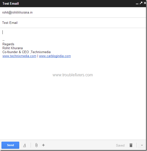 Change Sender email id in new gmail compose (3)