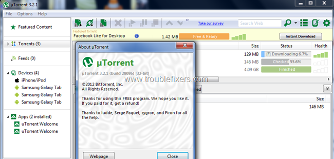 Remove utorrent ads (2)