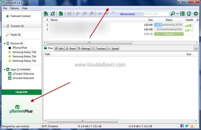 Remove utorrent ads (4)