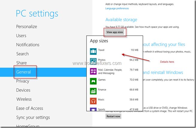 Space Usage By Windows 8 Apps (2)