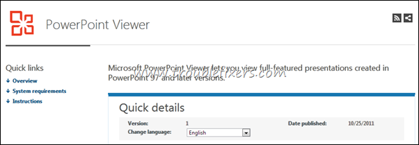 Power Point Viewer