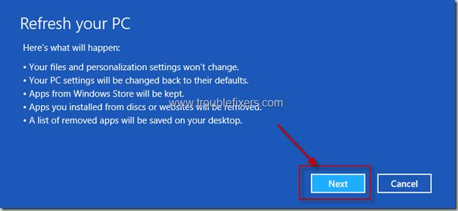 Refresh Windows 8 Installation (3)
