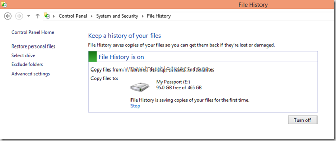 Windows 8 File History Backup and Restore Features (5)