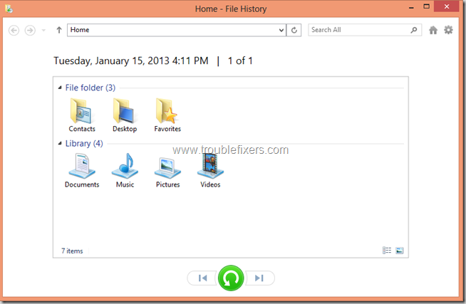 Windows 8 File History Backup and Restore Features (6)