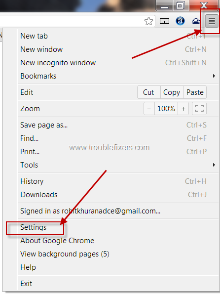Change Default Font Size And Type In Google Chrome