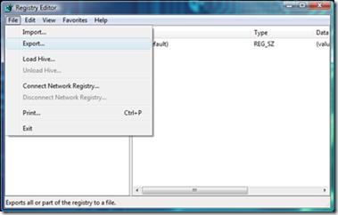 export-registry