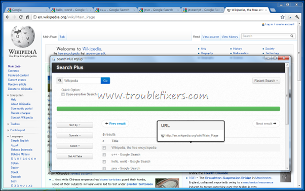 Google Chrome Extensions To Search Text Across Opened Tabs Webpages