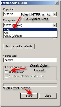 start-format-pen-drive