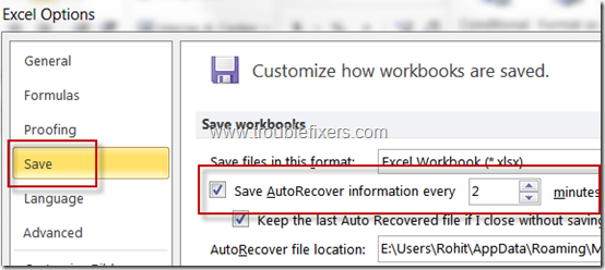 change-autosave-options-in-ms-excel