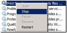 print-spooler-stop