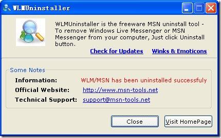 MSN_Uninstaller