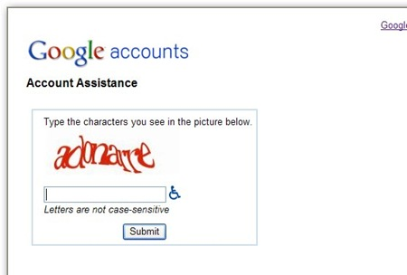 account-assistane-screen-on-google