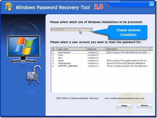 windows-password-recovery-tool