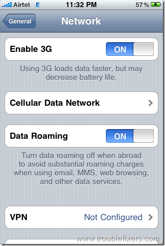 cellular data network