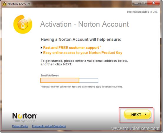 create-norton-account