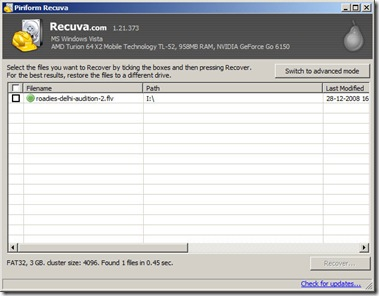 recoverdeletedfileswithrecuva thumb - Recover Deleted Files and Folders On Memory Card o