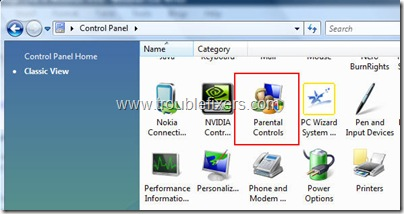 parentalcontrols thumb - Restrict Computer Usage In Windows Vista
