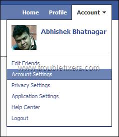 Facebook-Account-Settings