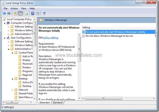 Stop-Windows-Messenger-AutoRun