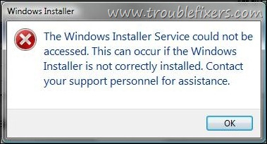 Cannot Uninstall or Install Software In Windows