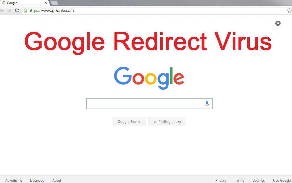 redirect virus google