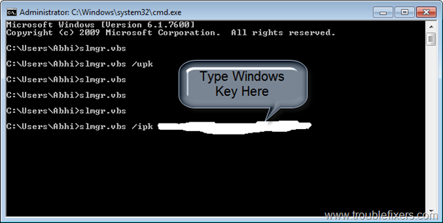 Solved ] Change Windows 7 Key And Activate With New Windows 7 Key