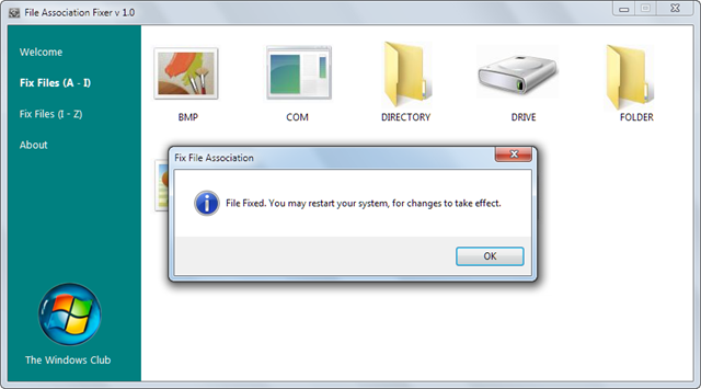 Fixed - Cannot Open A Particular File Type In Windows 7 and