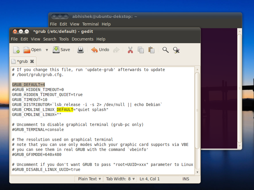 Set Windows As Default Booting OS With Ubuntu 10 04 or Higher In