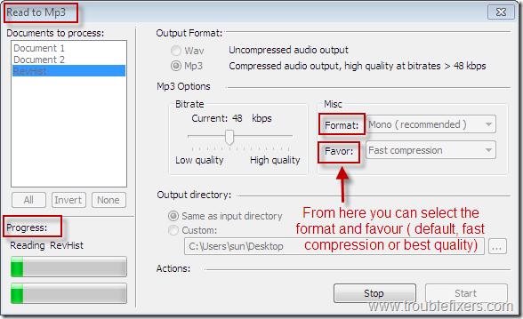 Freeware To Convert Text To Speech – TTSReader | TroubleFixers