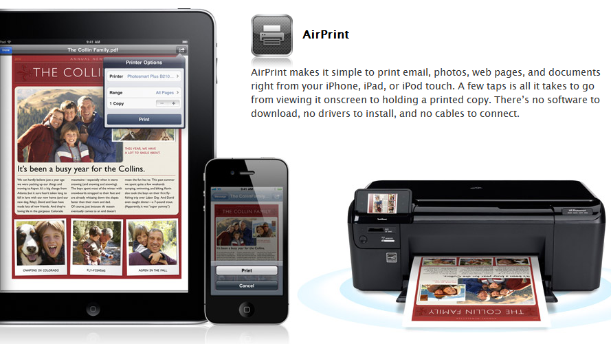 Print Any Document From iPad, iPhone, iPod Touch Using Windows PC