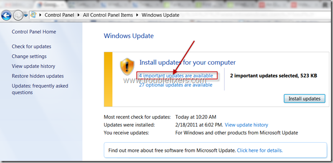 windows-update-in-control-panel