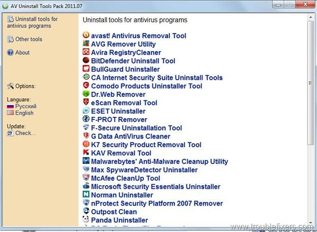 windows 7 antivirus softwares
