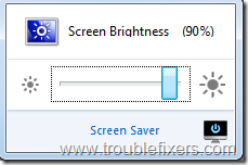 Quickly Change Windows Computer Screen Brightness or Turn Off