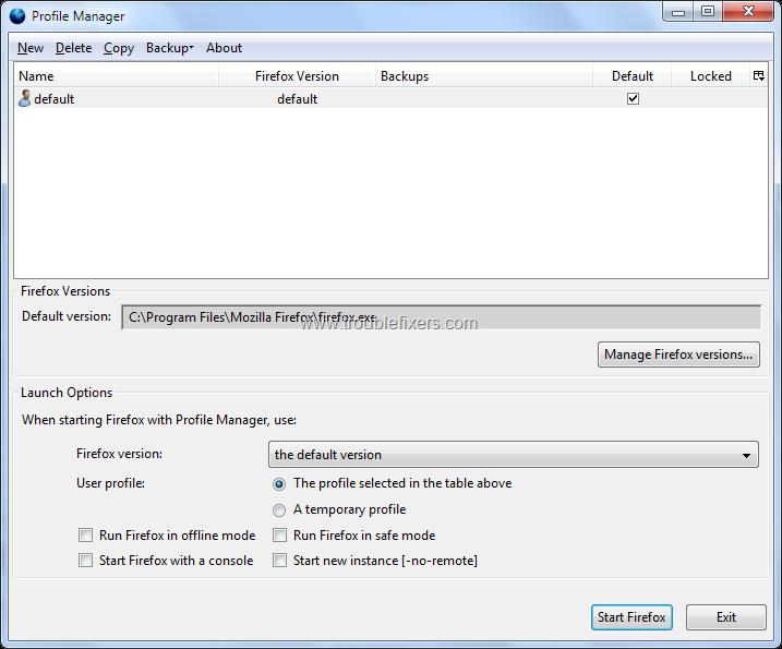 Backup, Restore, Move or Transfer Mozilla Firefox Profile On