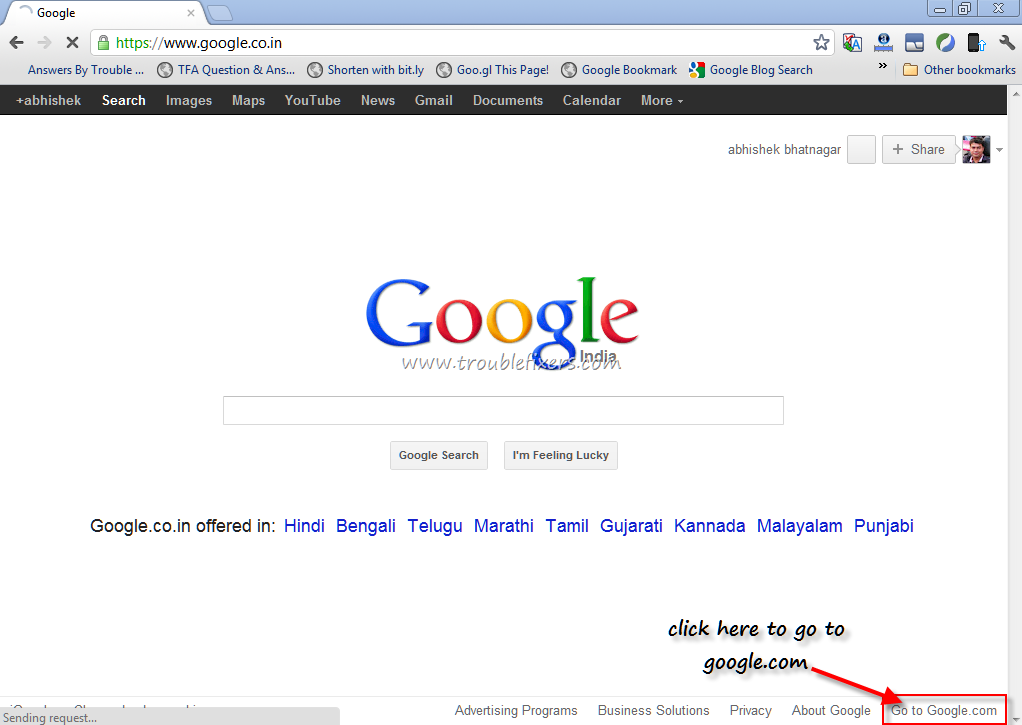 Google Voice Search Pc