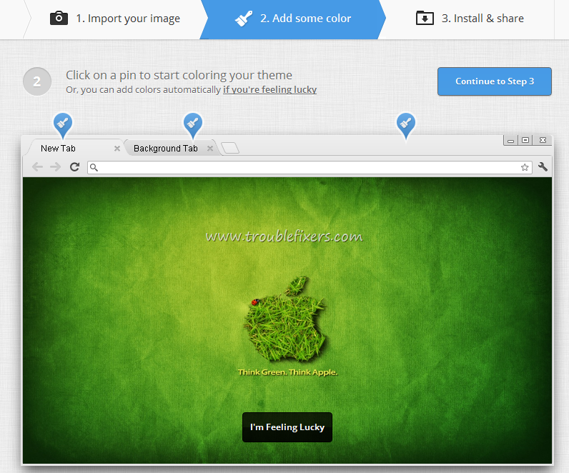 Add Wallpaper In Google Chrome New Tab Background – TroubleFixers