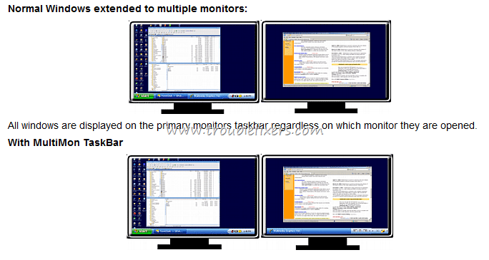 5 Free Software To Add Taskbar To Extended Multiple Monitor