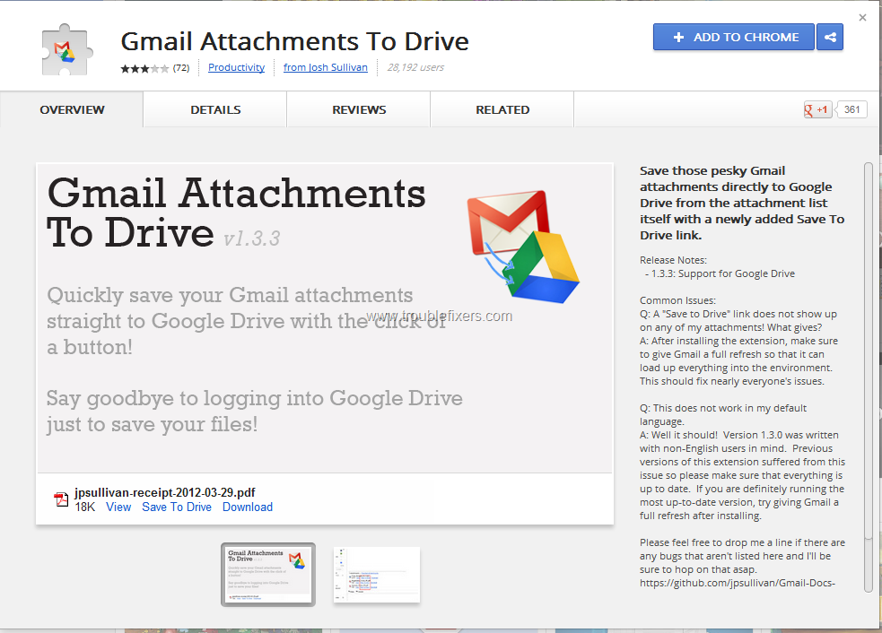 Copy Gmail Attachments Directly To Google Drive Cloud