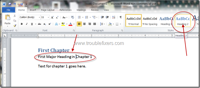 Generate Table Of Content In Microsoft Office Word (6)